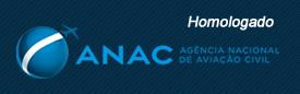 Homologado pela ANAC - Agência Nacional de Aviação Civil